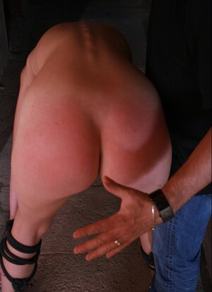 Poor ligatured up girl gets the most sensitive parts of her body waxed