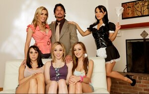 Horny young and fresh women pose on camera plus brutal noble stallion